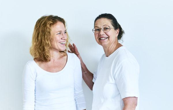 Frau Dr. Löw und Frau Dr. Wintner im Gespräch